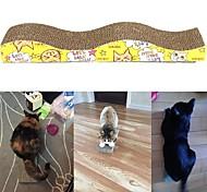 economico -Tiragraffi Giocattoli interattivi per gatti Divertenti giocattoli per gatti Prodotti per gatti 1 pc Adesivo liscio Progettato speciale Semplice Adatto agli animali Cartone Carta Regalo Giocattolo per