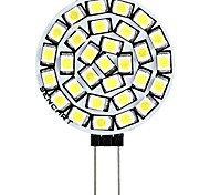 abordables -1pc 3 W LED à Double Broches 180 lm G4 T 30 Perles LED SMD 2835 Décorative Blanc Chaud Blanc 12 V
