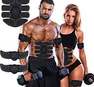 economico -Stimolatore di addominali Cintura addominale EMS Abs Trainer 6 pcs Gli sport Allenamento in palestra Esercizi di fitness bodybuilding Smart Elettronico Tonificador Muscular Tonificazione muscolare