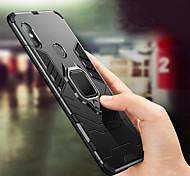economico -telefono Custodia Per Xiaomi Per retro Xiaomi Mi Max 3 Xiaomi Mi 8 Xiaomi Mi 8 SE Xiaomi Mi 6X (Mi A2) Xiaomi Mi 5X Resistente agli urti Supporto ad anello Tinta unica Resistente PC