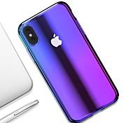 economico -telefono Custodia Per Apple Per retro iPhone XR iPhone XS iPhone XS Max iPhone X iPhone 8 Plus iPhone 8 iPhone 7 Plus iPhone 7 iPhone 6s Plus iPhone 6s Ultra sottile Transparente Colore graduale e