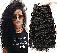 abordables -Lot de 4 Tissage de cheveux Cheveux Malaisiens Ondulation Extensions de cheveux Naturel humains Cheveux Naturel Rémy Paquets de 100% Remy Hair Weave 400 g Tissages de cheveux humains Extensions / 8A