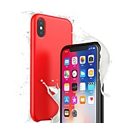 economico -telefono Custodia Per Apple Per retro Silicone Custodia in silicone iPhone XR iPhone XS iPhone XS Max iPhone X Ultra sottile Tinta unica Morbido Silicone