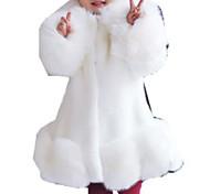economico -Bambino Da ragazza Completo e giacca Tinta unita Manica lunga Bianco Nero Rosa Essenziale