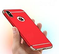 economico -telefono Custodia Per Apple Per retro iPhone XR iPhone XS iPhone XS Max iPhone X iPhone 8 Plus iPhone 8 iPhone 7 Plus iPhone 7 iPhone 6s Plus iPhone 6s Placcato Effetto ghiaccio Tinta unica Resistente