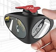 abordables -2 en 1 360 degrés de rotation double face miroir de tache aveugle renversant le stationnement auxiliaire rétroviseur de voiture