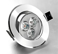 abordables -1pc 3 W 250 lm 3 Perles LED Encastré LED Encastrées Blanc Chaud Blanc Froid 85-265 V Commercial Maison / Bureau Chambre / RoHs / CE