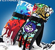 economico -Invernali Guanti sportivi Guanti da neve Per uomo Per donna Sport da neve Dita intere Inverno Antivento Anti-pioggia Tenere al caldo Flanella Nylon Sci Sport da neve Snowboard