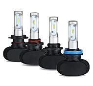 abordables -1 kit 50w 8000lm s1 voiture led kit de phares h1 h3 h7 h8 h9 h10 h11 hb3 hb4 880881 5202 phares de voiture automobiles pièces lampe