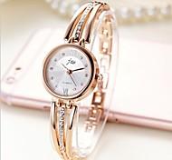 economico -Per donna Orologio braccialetto orologio d'oro Analogico Quarzo Donne Orologio casual / Acciaio inossidabile