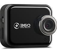 abordables -360 360J501C 1080p DVR de voiture 140 Degrés Grand angle 2 pouce Moniteur TFT LCD Dash Cam avec Wi-Fi / Vision nocturne / Mode Parking Non Enregistreur de voiture / 2.0