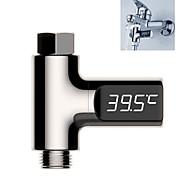 abordables -thermomètre de douche à affichage led led moniteur de température de débit d'eau à domicile