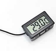 economico -termometro digitale incorporato lcd lettura istantanea frigorifero display di monitoraggio dell'acquario con rilevatore impermeabile