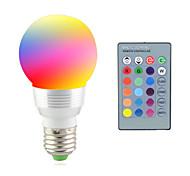 abordables -2 W Lampe LED de Scène 2700-7000 lm E14 E26 / E27 1 Perles LED LED Haute Puissance Commandée à Distance Décorative RGB 85-265 V