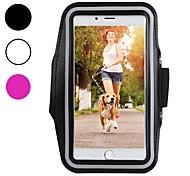 abordables -Coque Pour Apple iPhone XS / iPhone XR / iPhone XS Max Brassard sportif / Antichoc / Etanche à la Poussière Brassard Couleur Pleine Flexible Fibre de carbone