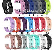 economico -Cinturino intelligente per Fitbit 1 pcs Cinturino sportivo Silicone Sostituzione Custodia con cinturino a strappo per Fitbit Charge 2 140-170 mm 170-206 mm
