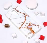economico -telefono Custodia Per LG Per retro LG V30 LG K10 2018 LG K10 (2017) LG G7 Fantasia / disegno Effetto marmo Morbido TPU