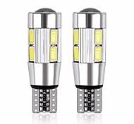 economico -Motocicletta / Auto LED Luci di posizione laterali T10 Lampadine 480 lm SMD 5630 5 W 10 Per Motori generali Universale 2 pezzi