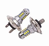 abordables -Automatique Lampe Frontale H7 Ampoules électriques 5000 lm LED Haute Performance 50 W Pour Universel Tous les modèles Toutes les Années 2 pièces