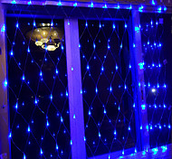 economico -luci della stringa della maglia della rete esterna 9.8ft x 6.6ft decorazione otto funzione luce rete da pesca europea impermeabile 1 pz