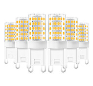 economico -6 pz 10 W Luci LED Bi-pin 600-800 lm G9 T 86 Perline LED SMD 2835 Bianco caldo Luce fredda Bianco 220-240 V
