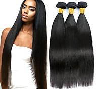 abordables -Lot de 3 Tissage de cheveux Cheveux Brésiliens Droit Extensions de cheveux humains Cheveux Naturel Rémy 100% faisceaux d'armure de cheveux remy 300 g Tissages de cheveux humains Extensions de cheveux