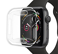 economico -Per Apple  iWatch Apple Watch Series 4 Silicone Proteggi Schermo Custodia per Smartwatch  Compatibilità 40 mm 44mm