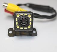 economico -1080p CCD Telecamera posteriore Impermeabile / Visione notturna per Auto