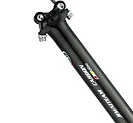 economico -Fibra di carbonio Reggisella 31.6/30.8/27.2 mm 34.9/30.2 mm 350 / 400 mm Bici da strada Mountain bike Ciclismo 3K Lucido Nero Fibra di carbonio Acetato ABS