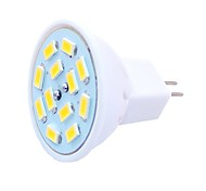 abordables -6pcs 1.5 W Spot LED 450 lm G4 MR11 MR11 12 Perles LED SMD 5730 Décorative Blanc Chaud Blanc Froid 12-24 V