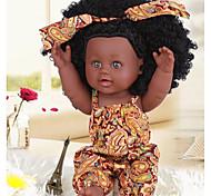 abordables -KIDDING 12 pouce Poupées noires Poupée Reborn Fille Poupée Bébés Fille réaliste Fait à la Main Mignon cadeaux noël enfant avec vêtements et accessoires pour les cadeaux d'anniversaire et de festival