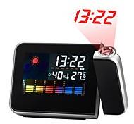 economico -sveglia a led plastica nera batterie aaa alimentate illuminazione sveglia sveglia 15 cm * 11 cm