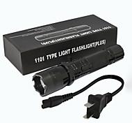 abordables -ZQ-X947 Lampes Torches LED 1501   1501 lm LED Émetteurs Manuel Mode d'Eclairage Transport Facile Poids Léger Prise EU Prise AU Prise GB Prise US Noir