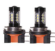 abordables -OTOLAMPARA Automatique LED Lampe Frontale H15 Ampoules électriques 1550 lm SMD 335 80 W 16 Pour Volkswagen / Gué Tiguan / Le golf / S-Max Toutes les Années 2 pièces