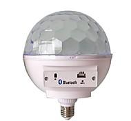 abordables -1pc e27 base rgb led lampe avec boîte à sons bluetooth haut-parleur musical boule magique led musique ampoule flash light