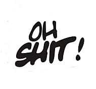 abordables -Blanche / Noir Autocollant pour auto Dessin Animé / Sportif / Le style mignon Autocollants de porte / Autocollants de queue de voiture Animal / Bande dessinée Autocollants