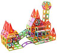 abordables -Carreaux magnétiques Blocs magnétiques 3D Briques de construction 60 pcs pour l'enseignement scientifique Apprendre les formes Apprenez les couleurs Développer la créativité Jouet Vapeur Motif