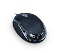 abordables -Mini USB filaire souris silencieuse Conduit la lumière de respiration 1000 dpi 2 niveaux de DPI réglables 3 pcs Clés