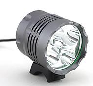 economico -Torce frontali Luci bici Fanale anteriore LED 4000 lm 5 LED emettitori 3 Modalità di illuminazione Campeggio / Escursionismo / Speleologia Uso quotidiano Ciclismo / Lega d'alluminio