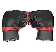 abordables -cuir PU couvre chaud moto guidon manchons motoneige imperméable hiver gants à la main