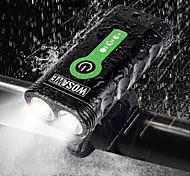 abordables -WOSAWE Eclairage de Velo Eclairage de Vélo Avant Phare Avant de Moto Cyclisme Imperméable Portable Ajustable Batterie au lithium 2400 lm Cyclisme - WOSAWE