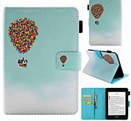 economico -telefono Custodia Per Amazon Integrale Kindle PaperWhite 4 Porta-carte di credito Resistente agli urti Fantasia / disegno Palloncini Resistente pelle sintetica