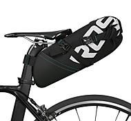 economico -ROSWHEEL 8/10 L Borsa posteriore laterale da bici Riflessivo Regolabile Massima capacità Borsa da bici Pelle Poliestere Marsupio da bici Borsa da bici Ciclismo Bicicletta / Ompermeabile