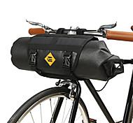 abordables -12 L B-SOULL Etanche Portable Vestimentaire Sacoche de Guidon de Vélo Sac de Vélo TPU Cuir Térylène Sac de Cyclisme Sacoche de Vélo Activités Extérieures Piste Cyclisme