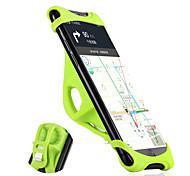 abordables -Monture de Téléphone Pour Vélo WEST BIKING® Portable Anti-dérapant Facile à Installer pour Silicone Alliage d'aluminium Vélo de Route Vélo tout terrain / VTT iPhone X iPhone XS iPhone XR Cyclisme