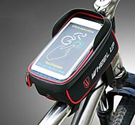 economico -Ruota su 1.275 L Borsa per cellulare Marsupio triangolare da telaio bici Ompermeabile Portatile Indossabile Borsa da bici Nylon Marsupio da bici Borsa da bici Ciclismo / iPhone X / iPhone XR Attivit