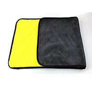 abordables -1 Pièce Microfibre Serviette en microfibre Grattez gratuitement Massage 30*60 cm