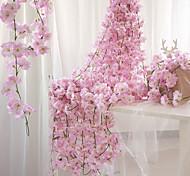 economico -fiore artificiale cesto di nozze in plastica fiore 1 bouquet 200 cm