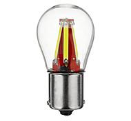abordables -1 Pièce BA15S (1156) Automatique Ampoules électriques COB 4 LED Feux de Circulation Diurnes / Clignotants / Feux de freinage Pour Universel Toutes les Années
