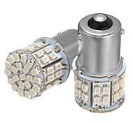 abordables -2pcs bau15s 150 7507 py21w 50smd led feux de direction voiture clignotant ampoule de frein ambre dc 12v 3.5w
